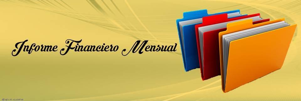 Informe financiero mensual